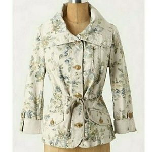 Daughters of The Liberation floral jacket
